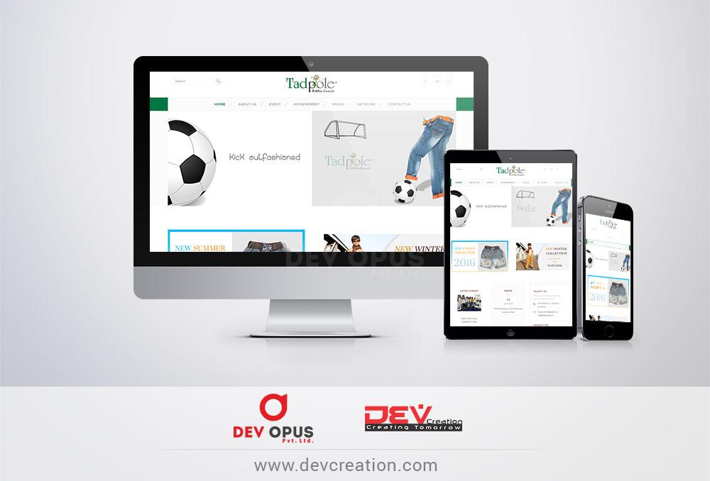 tadpole-website-design-development-ahmedabad