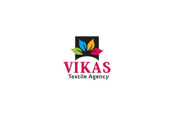 Logo Design For Vikas Textile Agency