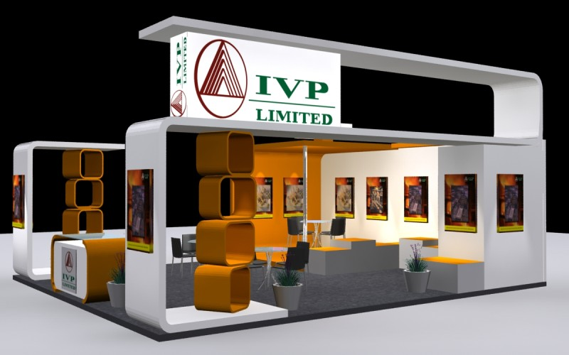Real Estate Exhibition Stall : Exhibition stall design