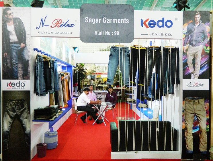 Exhibition Stall Design For Garments : Exhibition stall designing