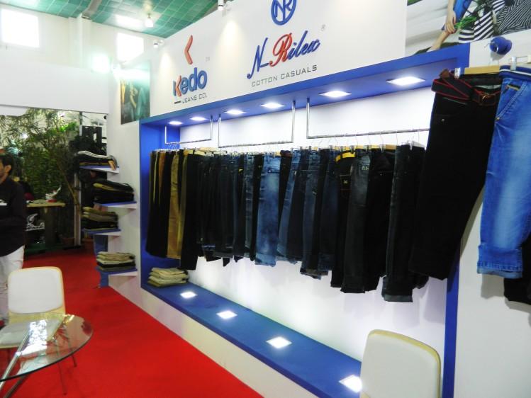 Exhibition Stall Design For Garments : Sagar garment ggam