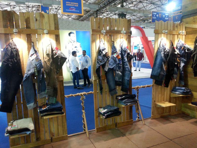 Garment Exhibition Stall : Exhibition stall design mumbai