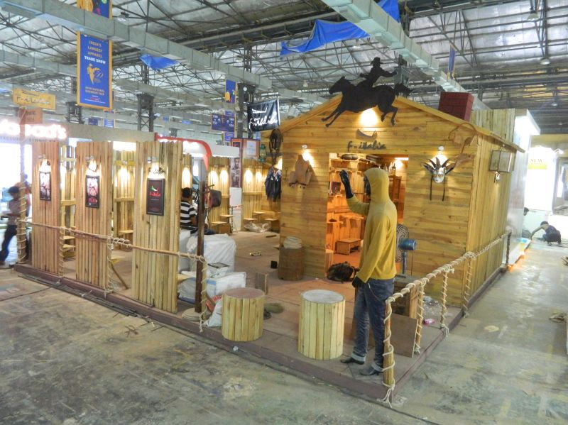 Garment Exhibition Stall : Exhibition stall designer in ahmedabad indian