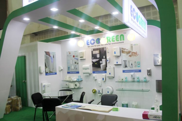 Exhibition Stall Manufacturer In Gujarat : Eco green clean india