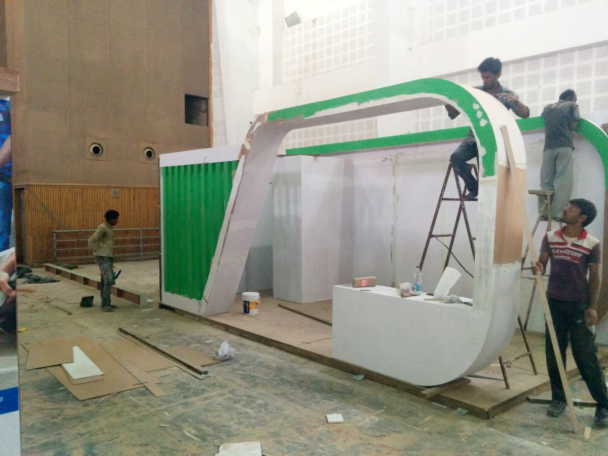Exhibition Stall Design And Fabrication For Clean India
