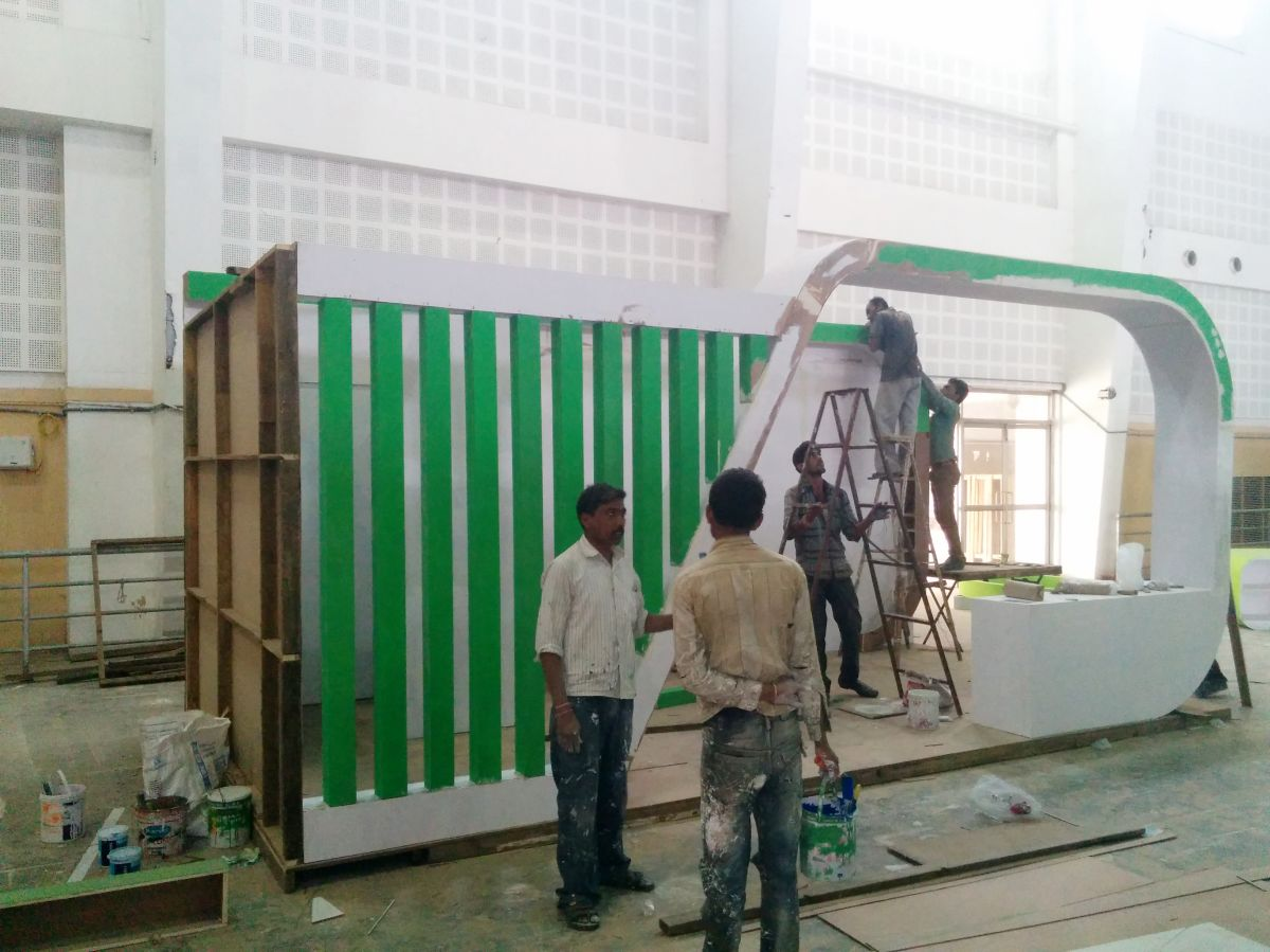 Exhibition Stall Manufacturer In Gujarat : Exhibition stall design