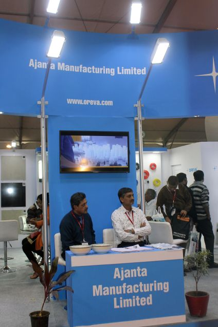Exhibition Stall Manufacturer : Exhibition stall design fabrication for electrical products