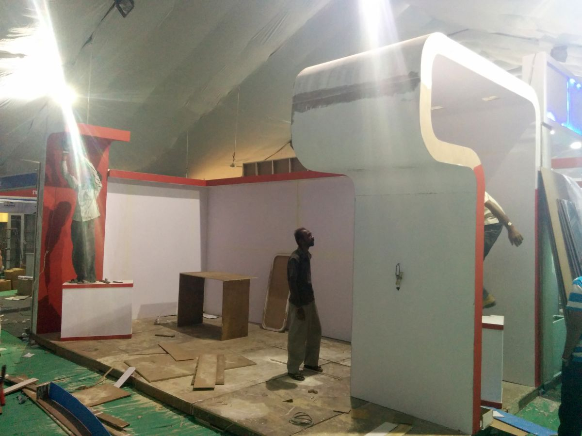 Exhibition Stall Fabricators In Nagpur : Exhibition stall design and fabrication