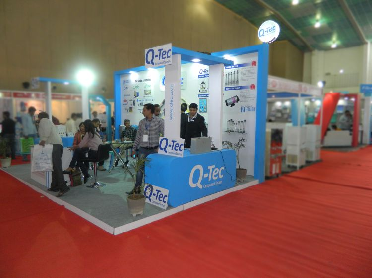 Exhibition Stall Design Q-tech-2014-01