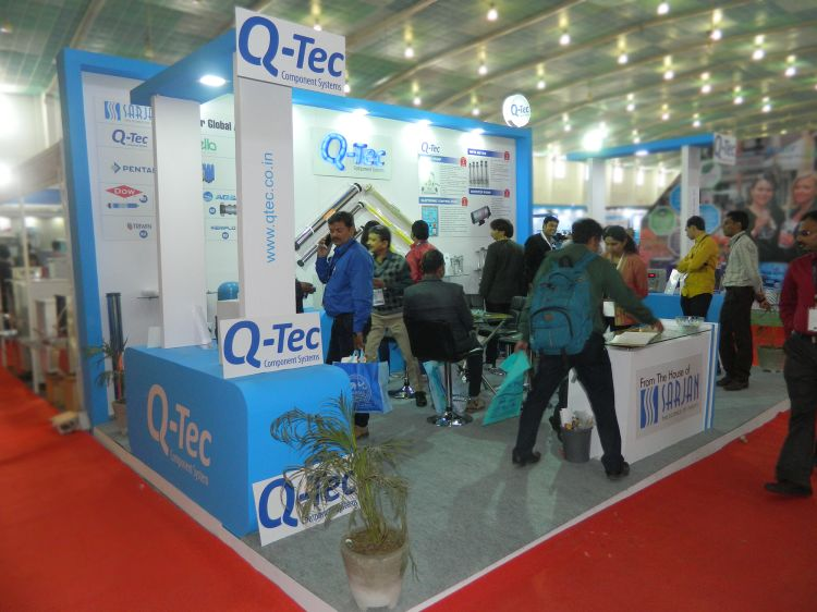 Exhibition Stall Design Q-tech-2014-07