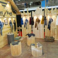 exhibition garment stall design