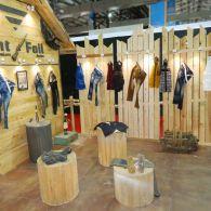 exhibition garment stall design
