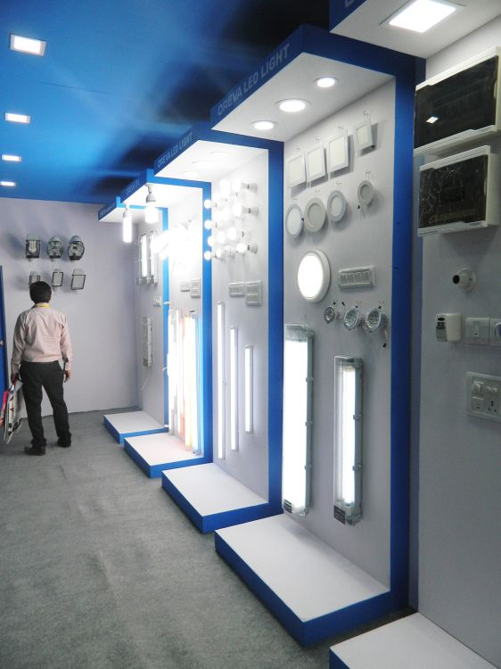 Exhibition Stall Design : Exhibition stall fabrication services