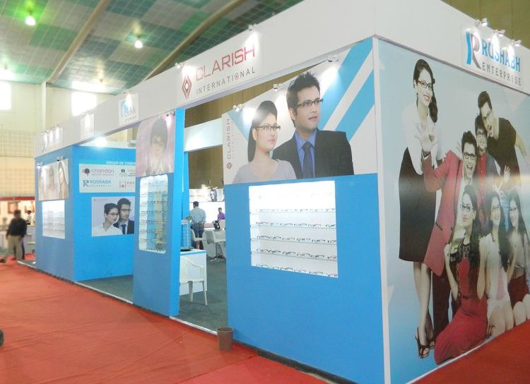 exhibition stall design India for Rushabh enterprise