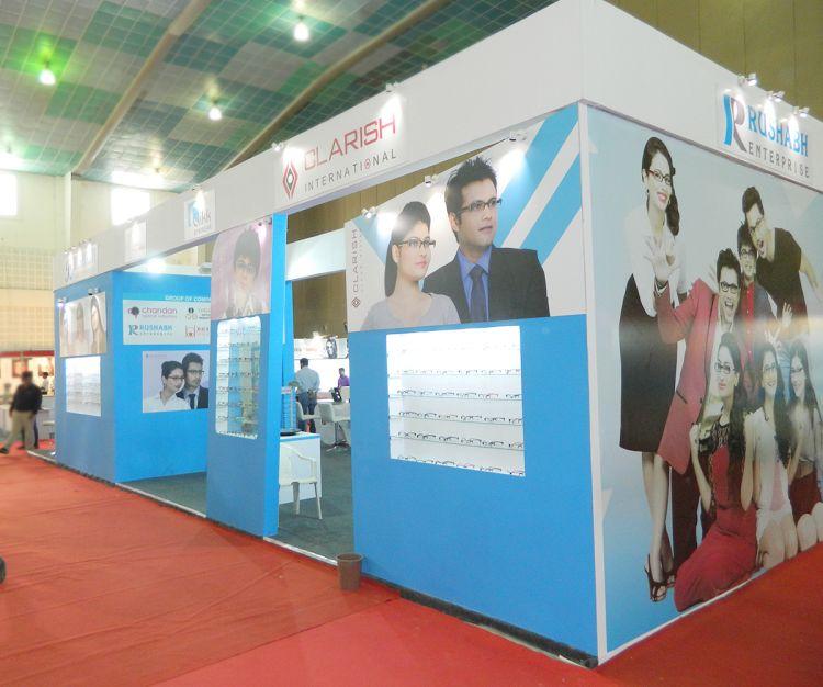 exhibition stall design India for Rushabh enterprise