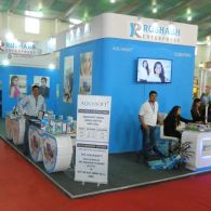 optic stall design and fabrication for exhibition