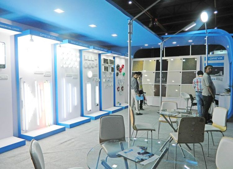 exhibition stall design and fabrication india