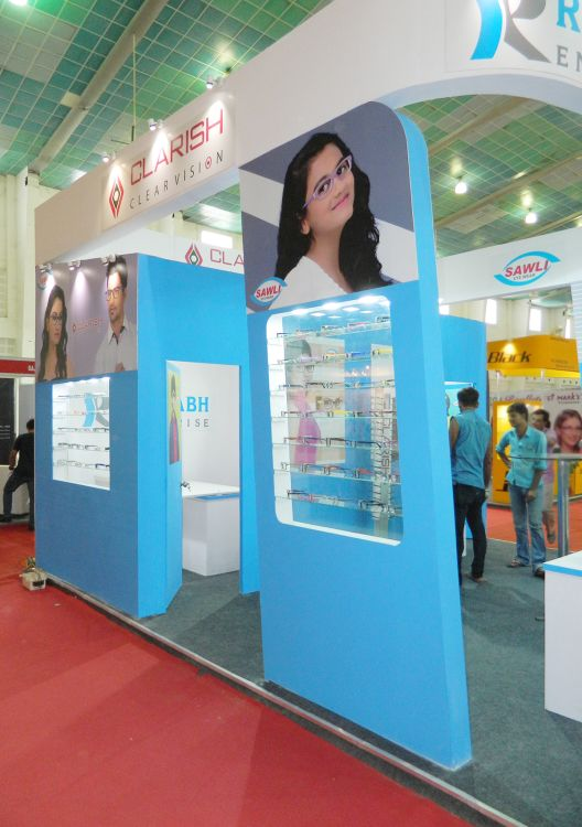 exhibition stall design ahmedabad for Rushabh enterprise