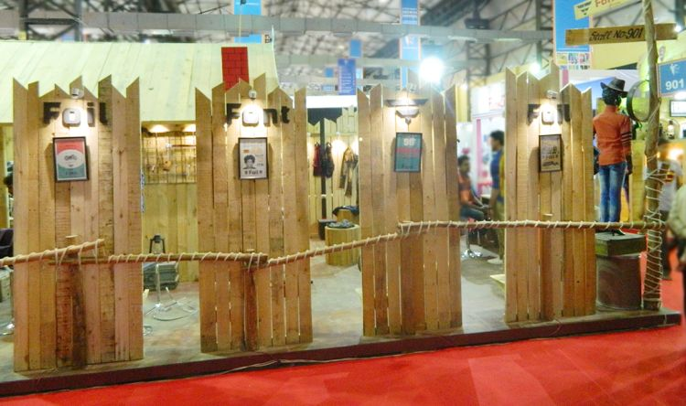 exhibition stall design at Mumbai