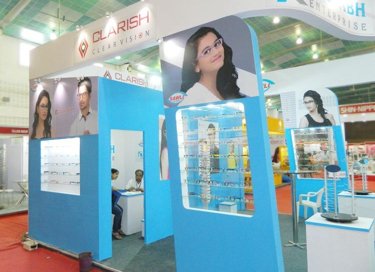 exhibition stall fabrication Gujarat for Rushabh enterprise