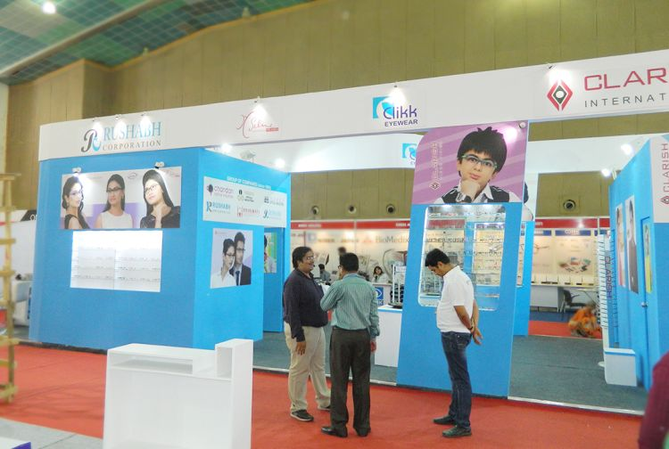 exhibition stall fabrication India for Rushabh enterprise