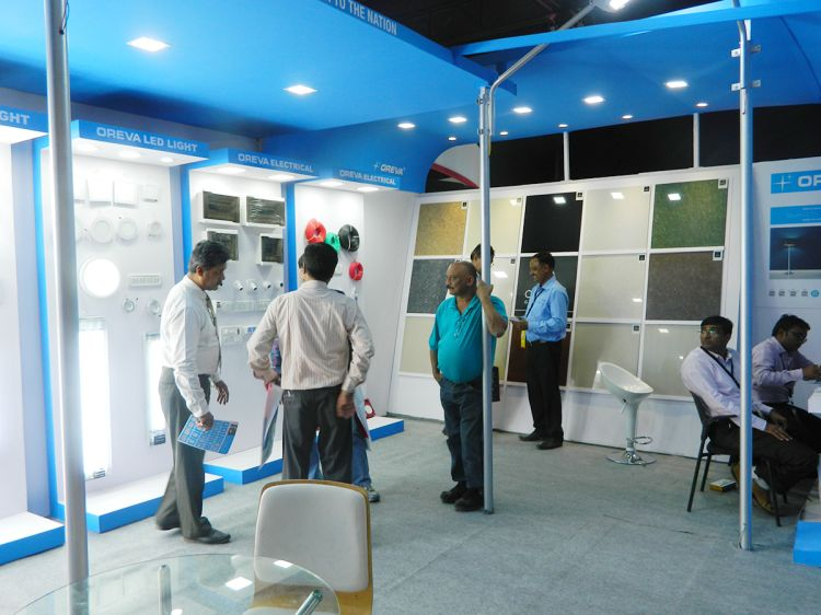 exhibition stall fabrication services india