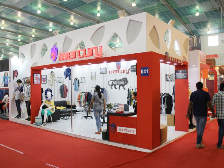 Exhibition Stall Fabricators In Jaipur : Exhibition stall design and fabrication for mercury ggma