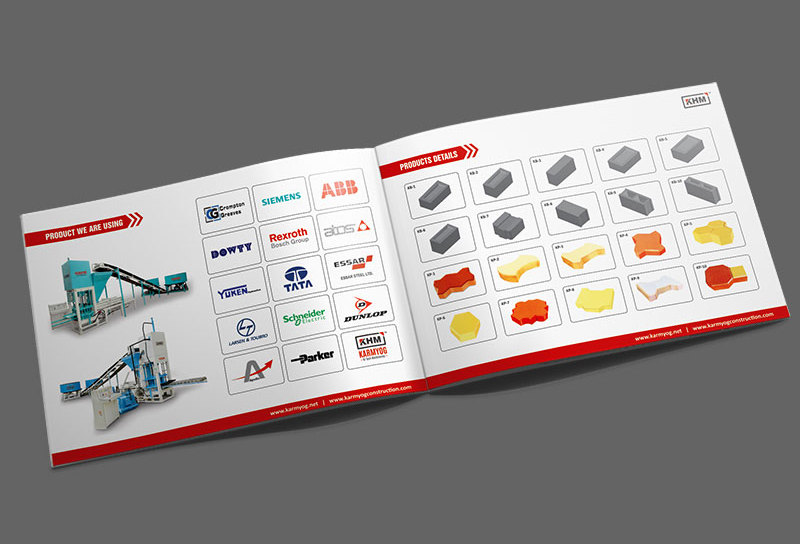 machinery brochure design ahmedabad gujarat india