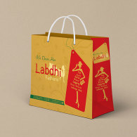 packaging-bag-design-ahmedabad-for-labdhi-fashion