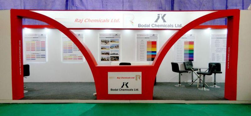 Exhibition Stall Design for Raj chemichal-1
