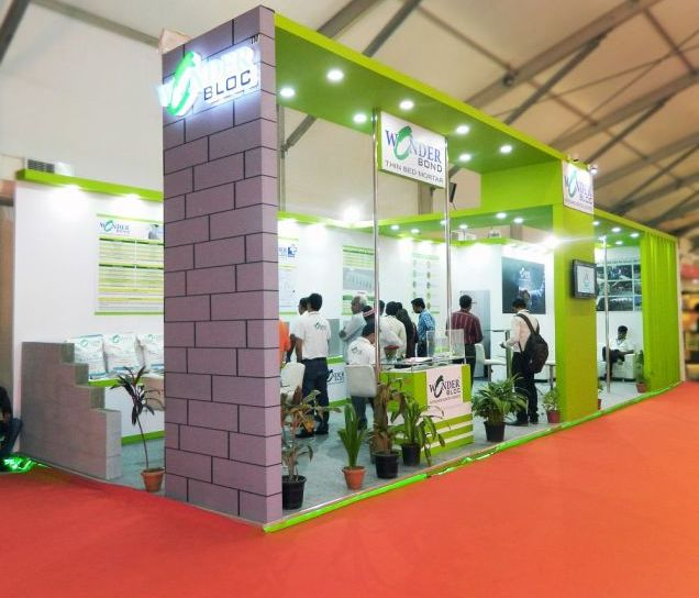 Exhibition Stall Making : Exhibition stall design for wonder block
