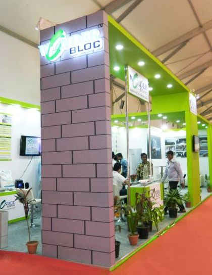 Exhibition Stall Design for wonder block-3