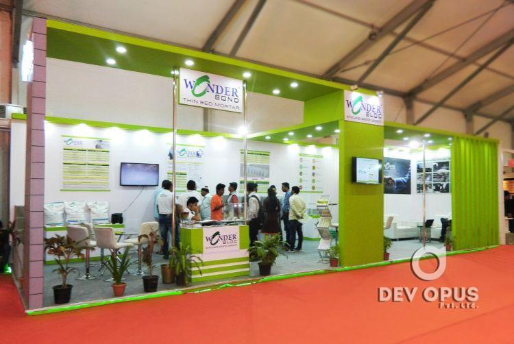 Real Estate Exhibition Stall : Exhibition stall design for wonder block