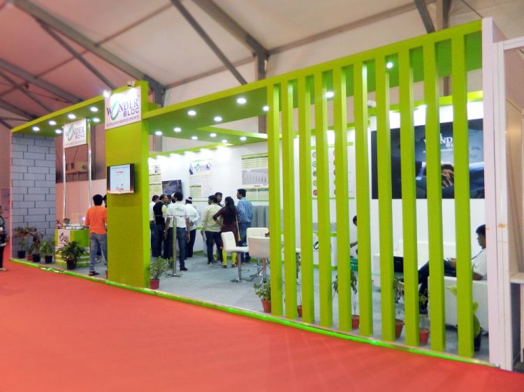 Exhibition Stall Manufacturer In Gujarat : Exhibition stall design for wonder block