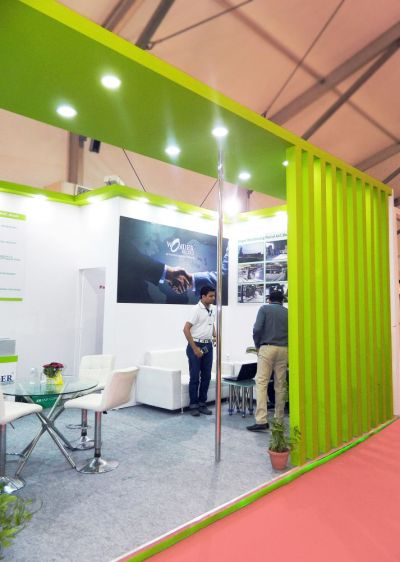 Exhibition Stall Fabrication : Exhibition stall fabrication for wonder block