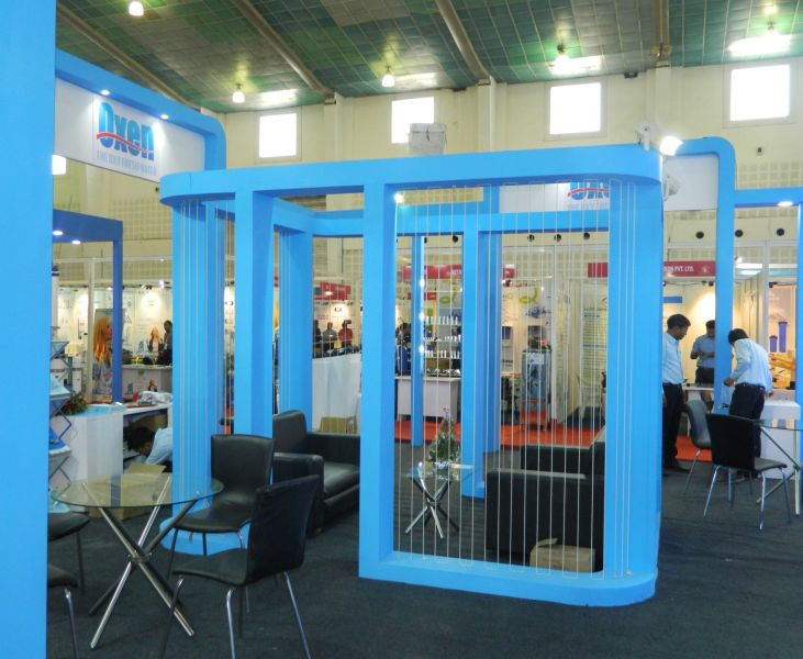 Exhibition Stall Fabricators In Nagpur : Exhibition stall design and fabrection for oxen in waptag