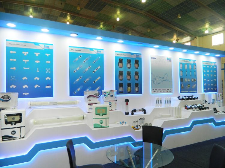 Exhibition Stall Fabricators In Goa : Exhibition stall design and fabrection for oxen in waptag