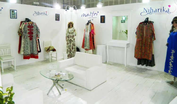 exhibition stall design and fabrection for maitri in Adaa India 2016 - 2