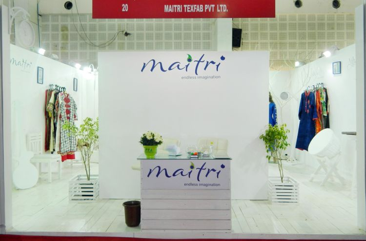 exhibition stall design and fabrection for maitri in Adaa India 2016 - 7
