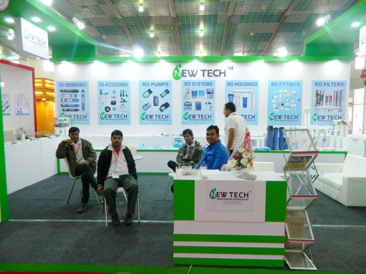 Exhibition Stall Posters : Exhibition stall design with fabrication for newtech exhibition stall