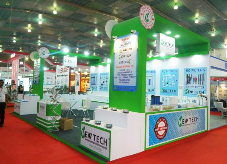 exhibition stall design and fabrection for newtech in waptag 2016 - 3