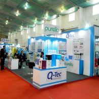 exhibition stall design and fabrection for sarjan in waptag 2016 - 1