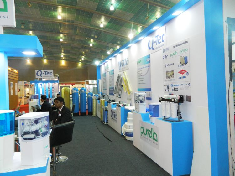 Exhibition Stall Fabricators In London : Exhibition stall design and fabrection for sarjan in