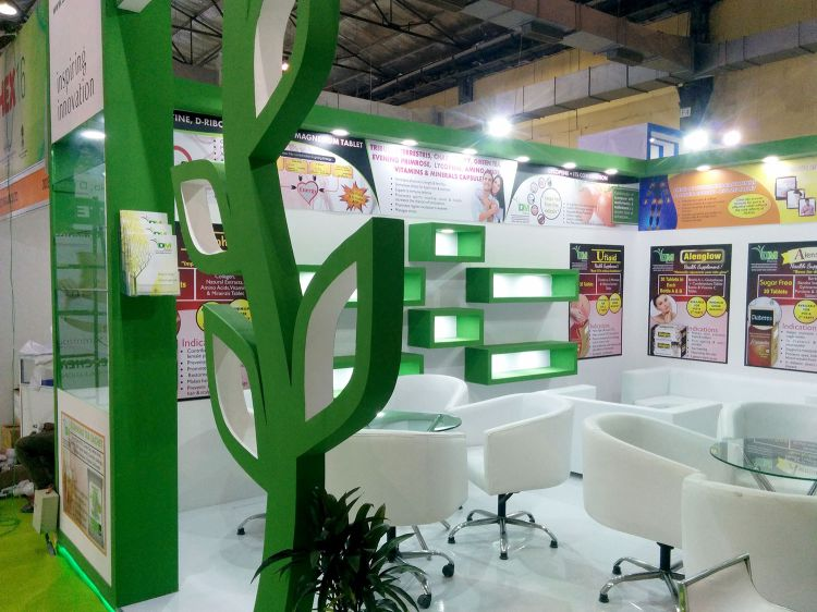 Exhibition Stall Fabricators In Nagpur : Dm pharma in iphex india