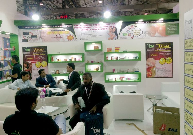 DM Pharma in Iphex India 2016-4