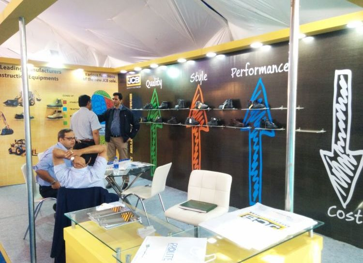 Exhibition Stall Design and Fabrication for JCB  in 2016-1