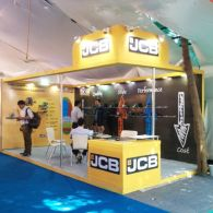 Exhibition Stall Design and Fabrication for JCB  in 2016-6