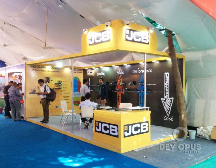 Exhibition Stall Design And Fabrication In : Exhibition stall design and fabrication for jcb in