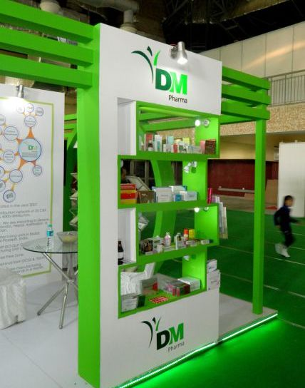 Exhibition Stall for DM Pharma in Being Healthy Expo 2016-1