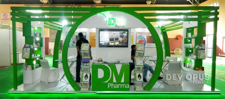 Exhibition Stall for DM Pharma in Being Healthy Expo 2016-5